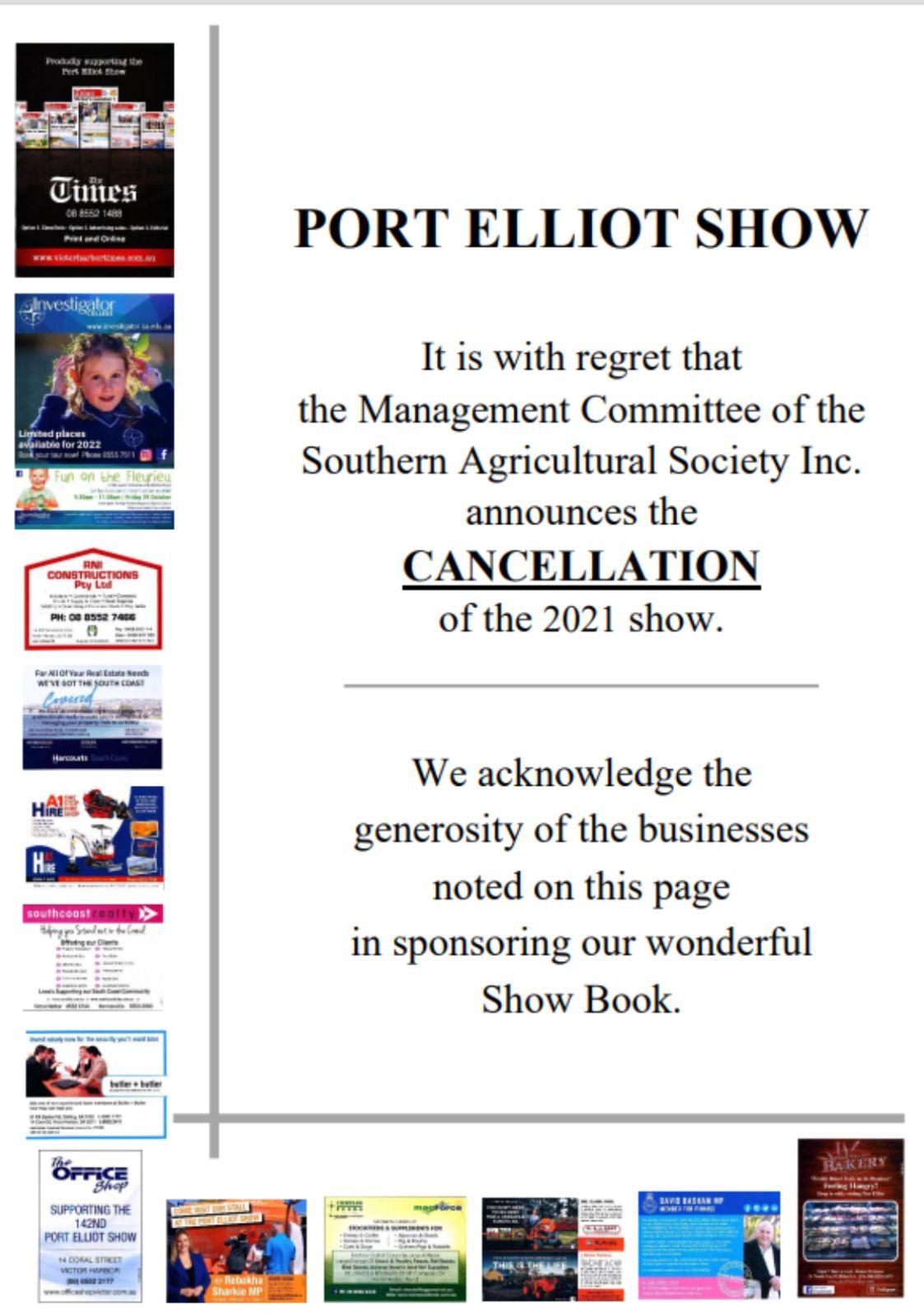 Port Elliot Show